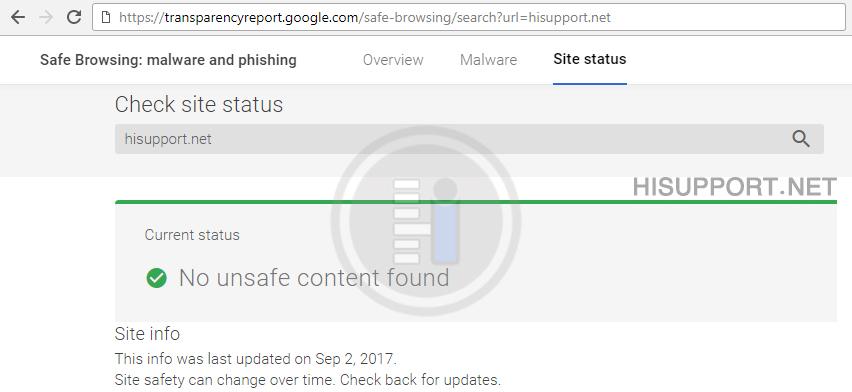 چگونگی بررسی Black List گوگل